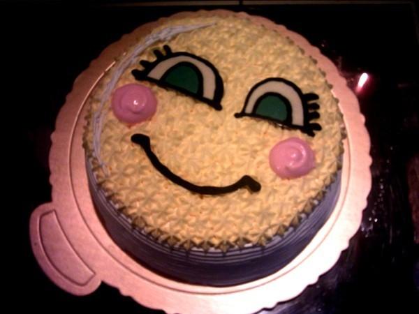smile cake