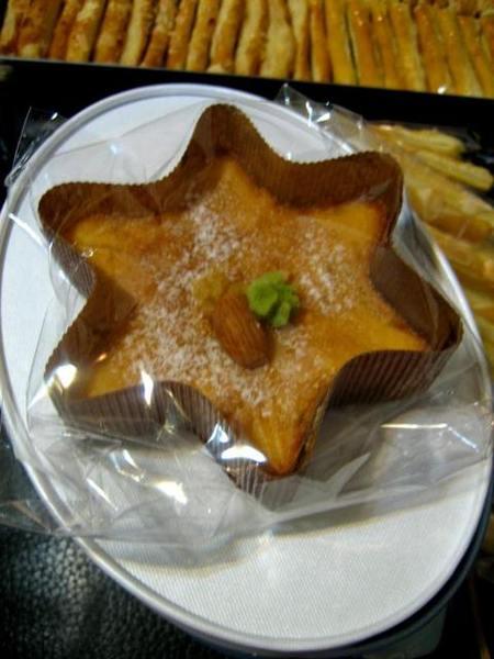 星型柳橙蛋糕