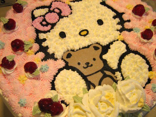 櫻桃kitty cake(十四吋)1