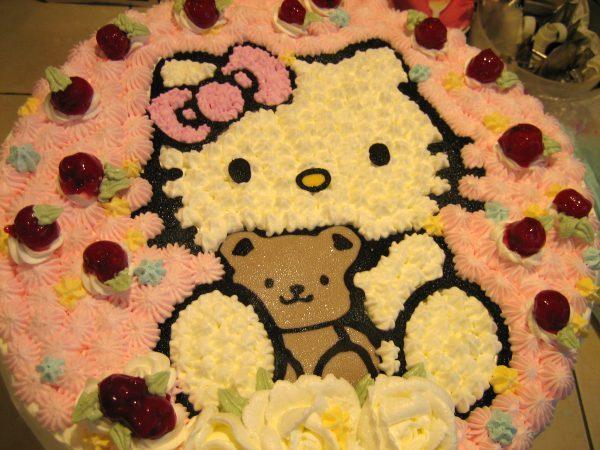 櫻桃kitty cake(十四吋)2