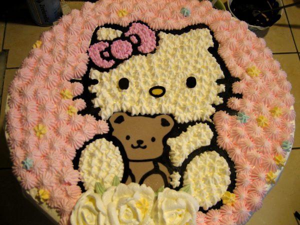 普通kitty cake1