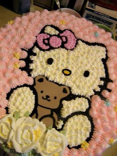 普通kitty cake2