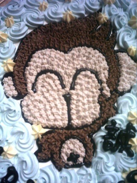 豆子的淘氣猴蛋糕