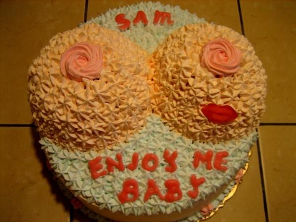 紅唇海咪咪蛋糕