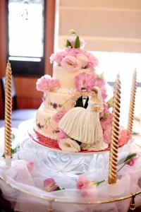 Lily's wedding cake on Mar19