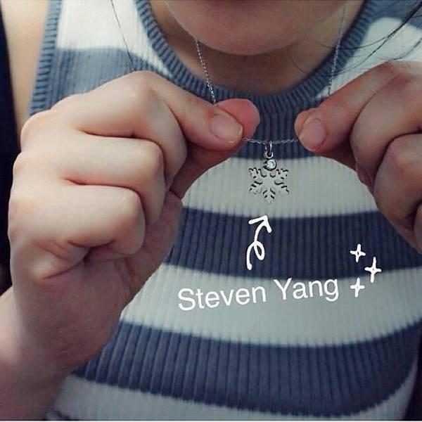 【飾品】每年秋冬的挑選重點: 雪花項鍊 (Steven Yang)