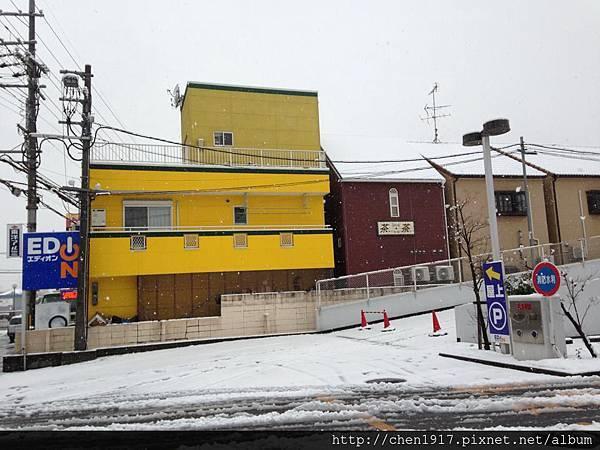 冬季大阪何時才下雪