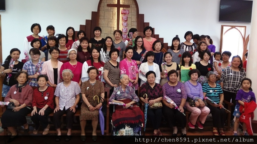 2016金門基督教會慶祝母親節活動
