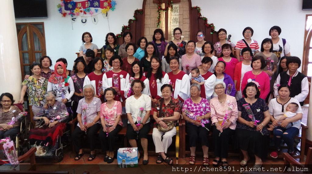2017金門基督教會慶祝母親節活動