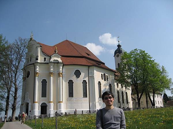 Wieskirche教堂-外觀不起眼.jpg