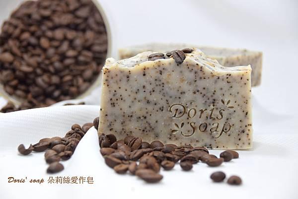 咖啡磨砂淨膚皂