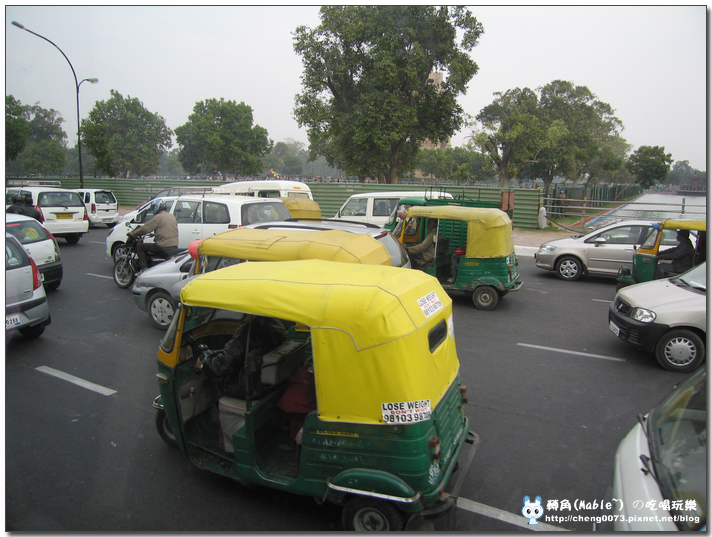 印度的三輪計程車