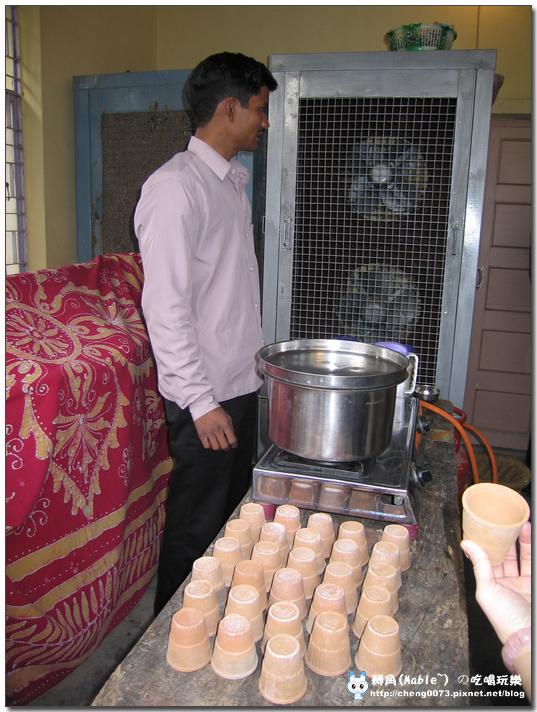 印度家庭煮MASALA TEA 請我們喝