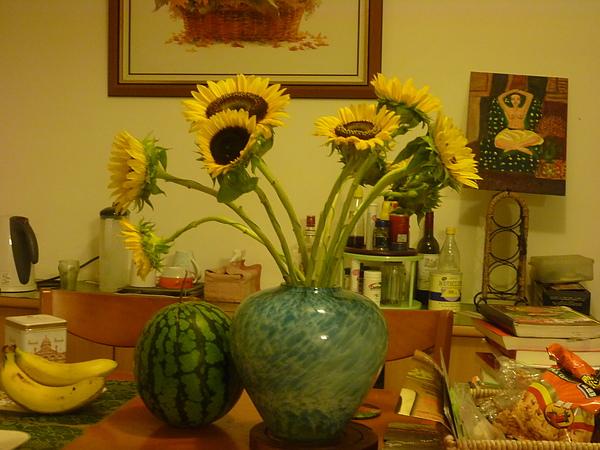 西瓜 香蕉 向日葵