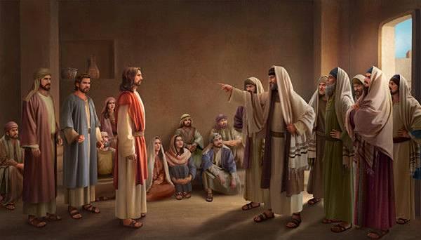 分辨法利賽人, 神的名, 主耶穌