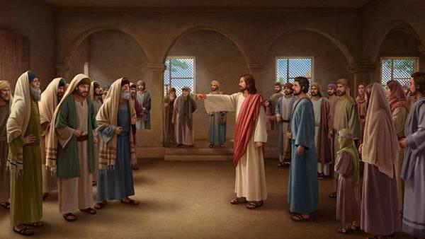 分辨法利賽人, 神的烈怒, 主耶穌