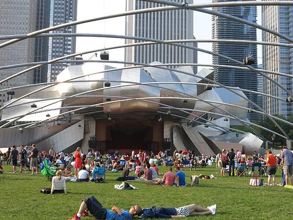 芝加哥 千禧公園 音樂會