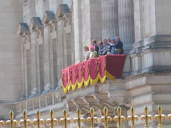 我見到英國女王