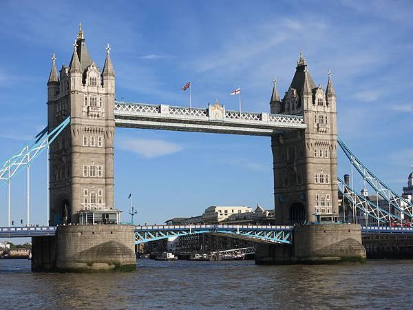 倫敦塔橋玻璃地板 Tower Bridge Glass Floor