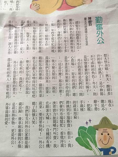 成寒中文寫作堂 - 學生作品