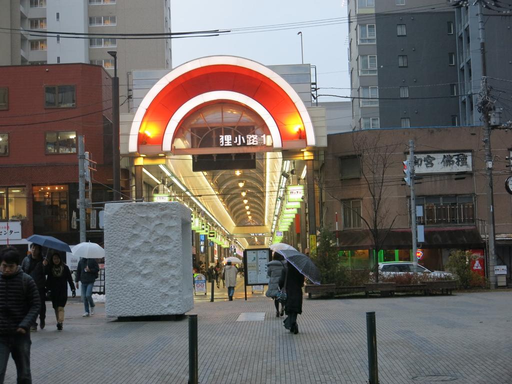 北海道‧札幌‧狸小路商店街 Tanukikoji