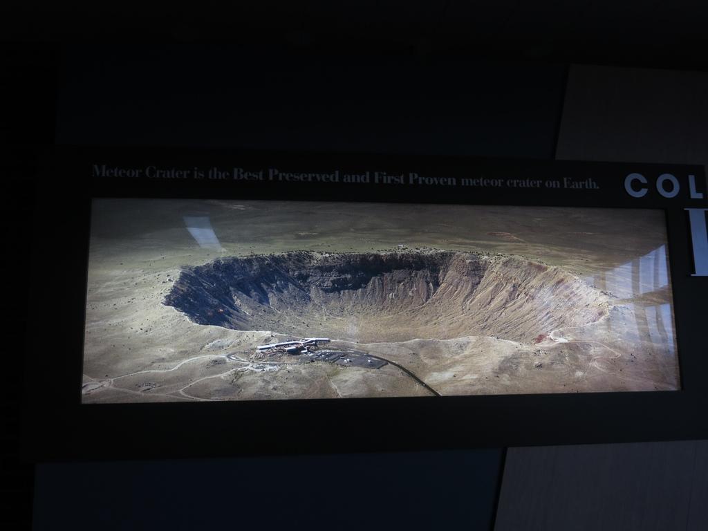 亞利桑那 - 隕石坑 Meteor Crater