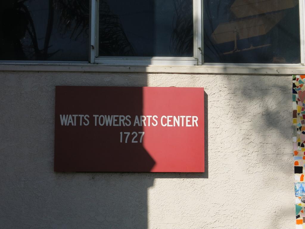 華茲塔 Watts Tower