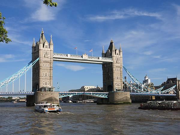 02-成寒-不花錢的倫敦-倫敦塔橋 Tower Bridge
