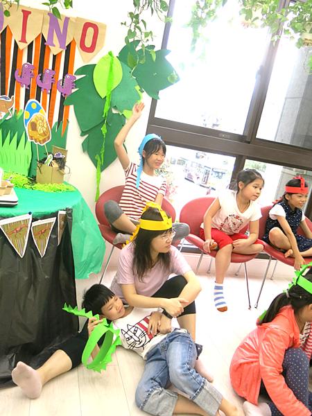 30-成寒-英語主題派對-恐龍派對
