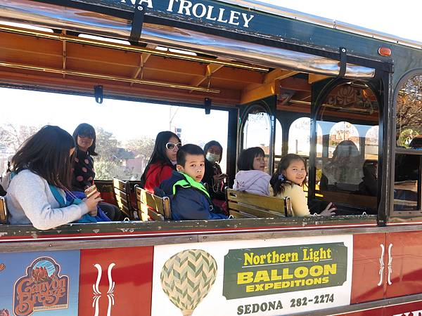 Sedona Trolley Tour-成寒