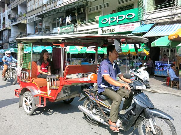 柬埔寨-嘟嘟車-Phnom Penh, Cambolia-成寒