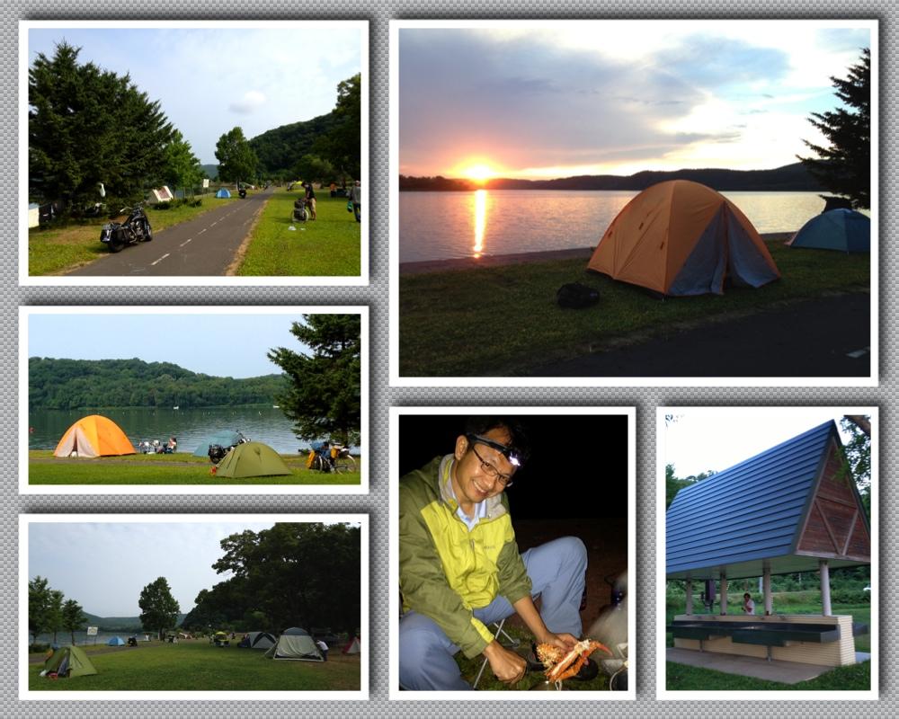 8:7呼人浦湖畔營地