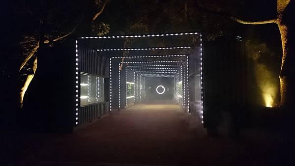 大阪城公園光雕秀起點