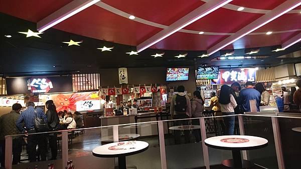 大阪環球影城步道美食街