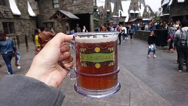 大阪環球影城哈利波特奶油啤酒