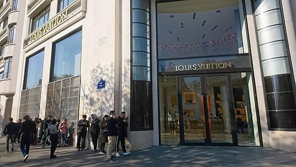 Louis Vuitton巴黎香榭大道旗艦店