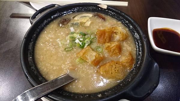 皮蛋叉燒粥