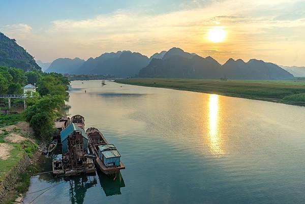 黃昏的Phong Nha