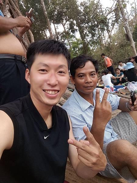 加入越南的野餐家庭