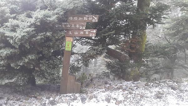 主峰西峰方向指標