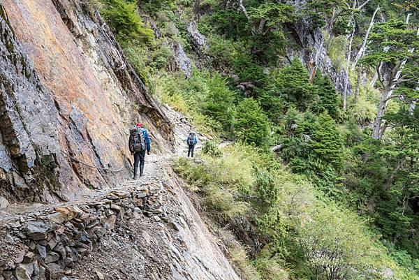 登玉山的路徑