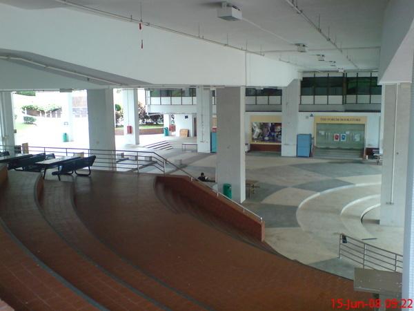 圖書館中庭