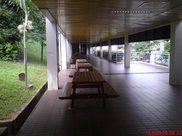 圖書館跟社科院的連接通道