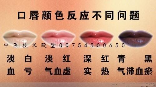 1 口唇顏色