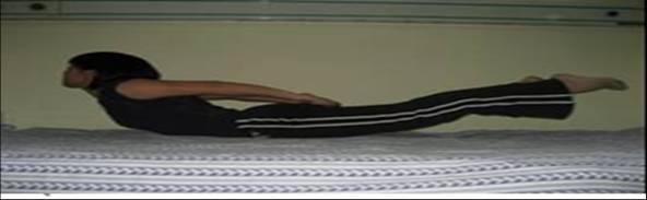 腰背肌的飛燕點水法 1