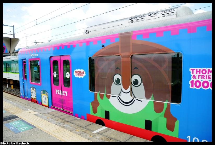 京阪10000系電車(湯瑪士列車)@村野站_2(2)_20110912.jpg