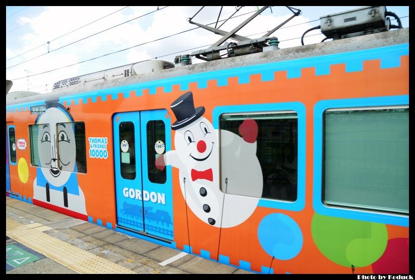 京阪10000系電車(湯瑪士列車)@村野站_3(2)_20110912.jpg