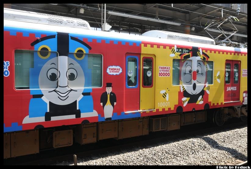 京阪10000系電車(湯瑪士列車)@枚方市站_7(2)_20110912.jpg