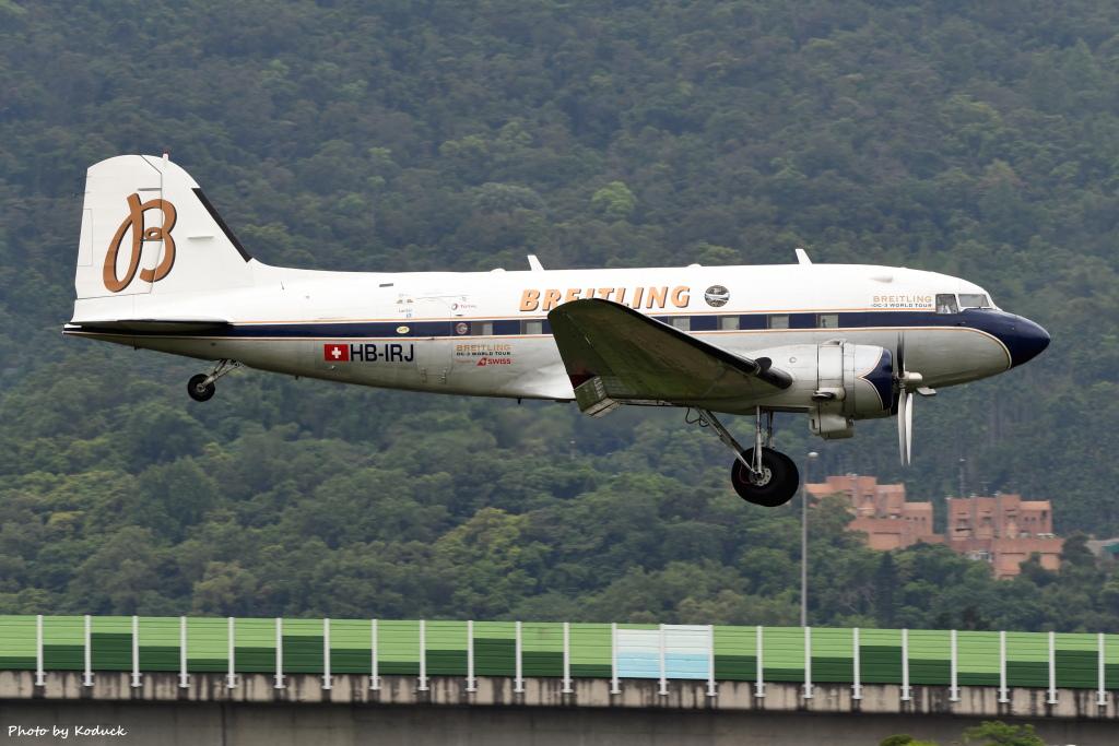 Breitling Douglas DC-3 (HB-IRJ)@RCSS_1_20170425.JPG