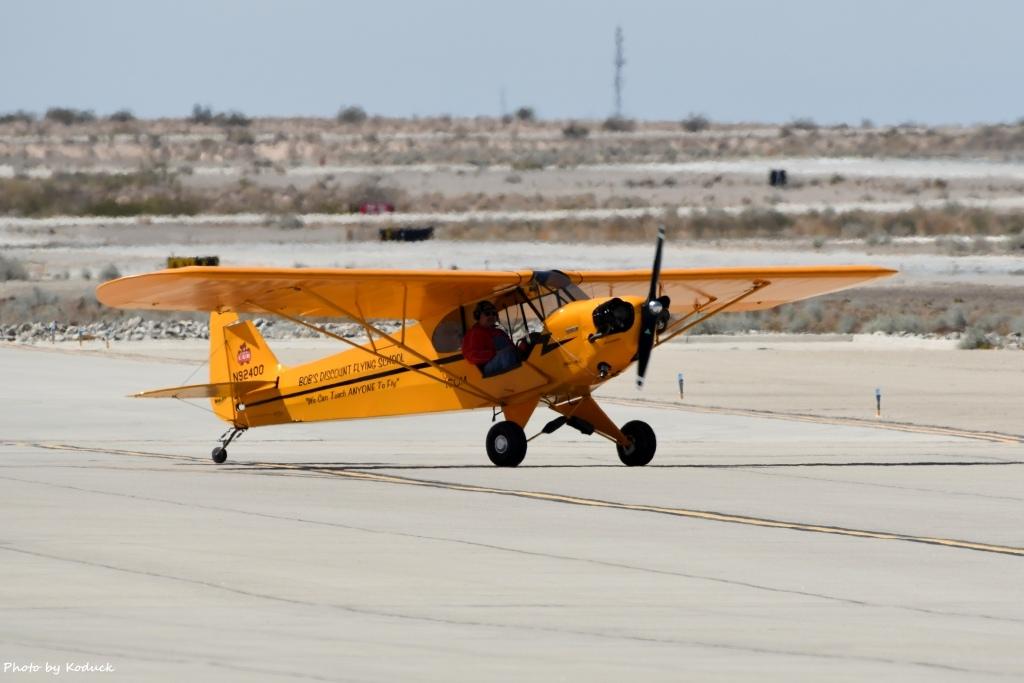 Private Piper J-3C-65 Cub(N92400)@Yuma_1_20180317.jpg